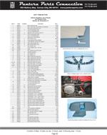 Interior Headliner Door Panels And Related Parts